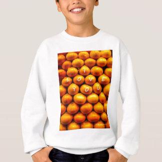 I Liebe Sie Zwiebeln Sweatshirt