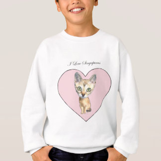 I Liebe Singapuras Sweatshirt