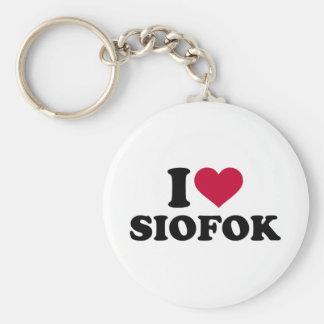 I Liebe Siofok Schlüsselanhänger