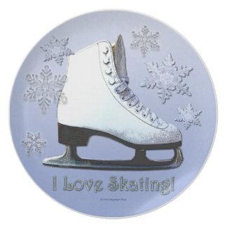 I Liebe-Skaten Teller