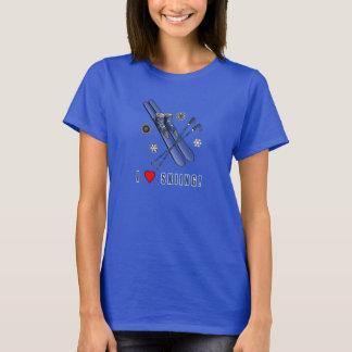 I Liebe-Ski fahren! T-Shirt