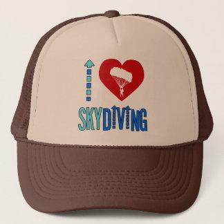 I Liebe Skydiving Truckerkappe