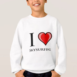 I Liebe Skysurfing Sweatshirt