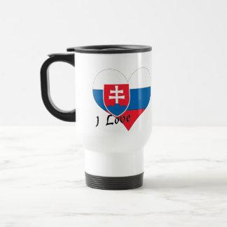 I Liebe Slowakei Reisebecher