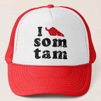 I Liebe-Som Tam ❤ thailändische Isaan Nahrung Truckerkappe