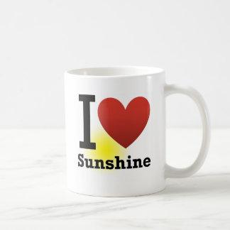 I Liebe-Sonnenschein Kaffeetassen