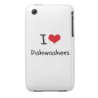 I Liebe-Spülmaschinen iPhone 3 Hüllen