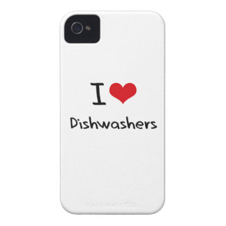 I Liebe-Spülmaschinen iPhone 4 Etuis