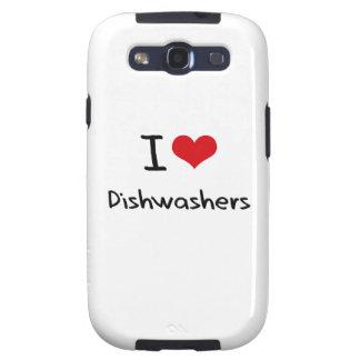 I Liebe-Spülmaschinen Etui Fürs Galaxy S3