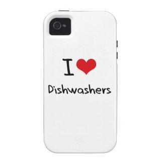 I Liebe-Spülmaschinen iPhone 4 Hülle