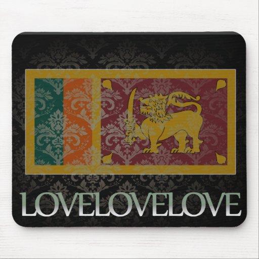 I Liebe Sri Lanka cool Mousepads