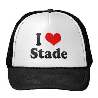 I Liebe Stade, Deutschland. Ich Liebe Stade, Trucker Mütze