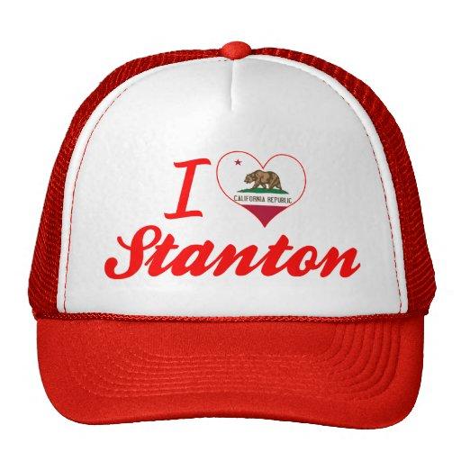 I Liebe Stanton, Kalifornien Mütze
