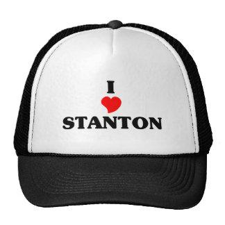 I Liebe Stanton Retrokultkappe