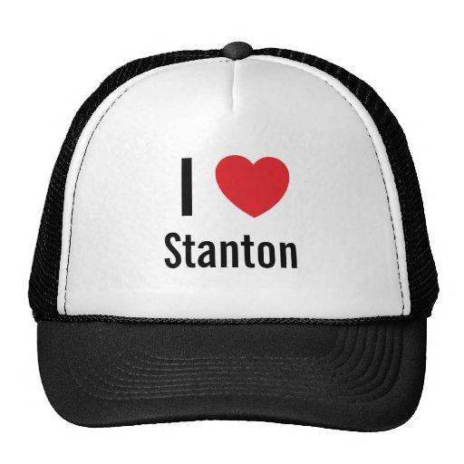 I Liebe Stanton Truckermütze