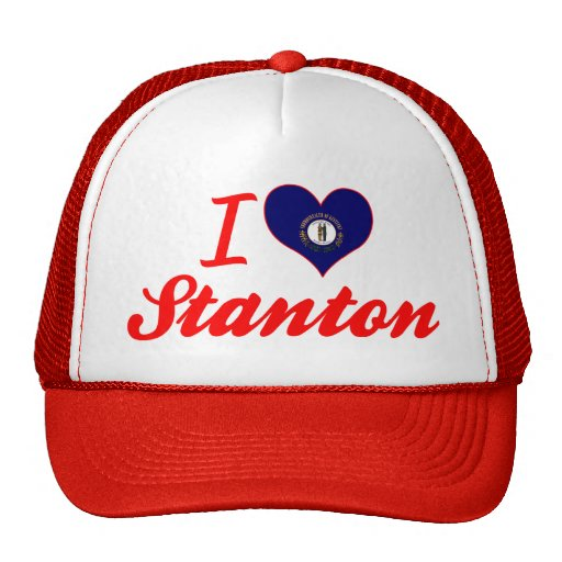 I Liebe Stanton, Kentucky Trucker Mütze