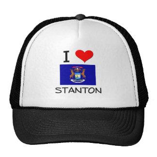 I Liebe Stanton Michigan Netzmütze