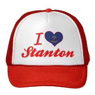 I Liebe Stanton, North Dakota Baseballcaps
