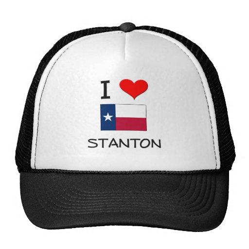 I Liebe Stanton Texas Baseball Kappe