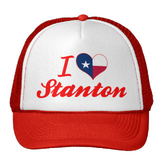 I Liebe Stanton, Texas Retrokappe