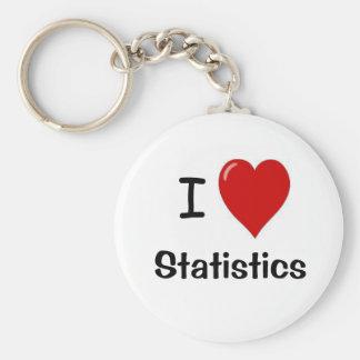 I Liebe-Statistiken - i-Herz-Statistiken Schlüsselanhänger