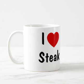 I Liebe-Steak Kaffeetasse