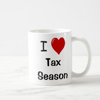I Liebe-Steuer-Jahreszeit - Kaffeetasse