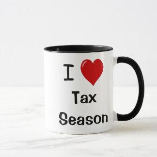 I Liebe-Steuer-Jahreszeit - Tasse