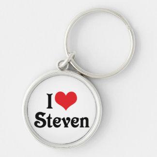 I Liebe Steven Schlüsselanhänger