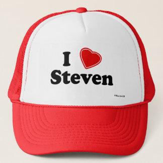 I Liebe Steven Truckerkappe