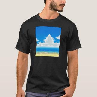 I Liebe-Strand T-Shirt