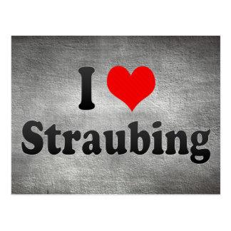 I Liebe Straubing, Deutschland Postkarten