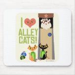 I Liebe-streunende Katzen Mauspad