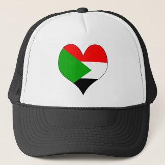 I Liebe Sudan Truckerkappe