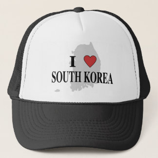 I Liebe Südkorea Truckerkappe