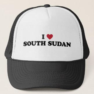 I Liebe Südsudan Truckerkappe