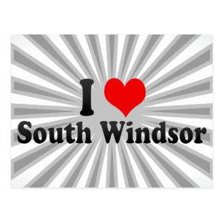 I Liebe SüdWindsor, Vereinigte Staaten Postkarte