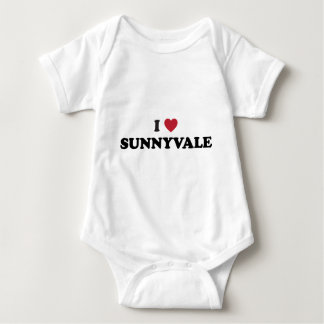 I Liebe Sunnyvale Kalifornien Baby Strampler