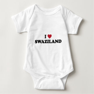 I Liebe Swasiland Baby Strampler