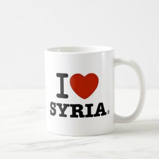 I Liebe Syrien Kaffeetasse