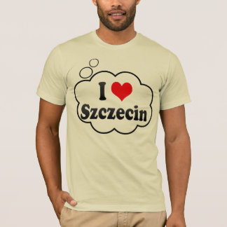 I Liebe Szczecin, Polen T-Shirt