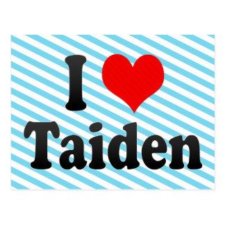 I Liebe Taiden, Korea Postkarte
