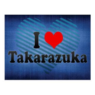 I Liebe Takarazuka, Japan Postkarte