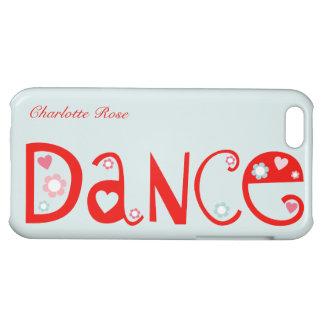 I Liebe-Tanz iPhone 5C Fall Hüllen Für iPhone 5C