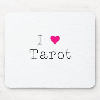 I Liebe-Tarot-Mausunterlage Mousepads
