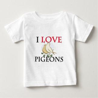 I Liebe-Tauben Baby T-shirt