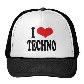 I Liebe Techno Tuckercaps
