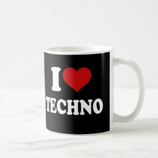 I Liebe Techno Tasse