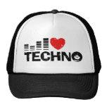 I Liebe Techno Trucker Kappe