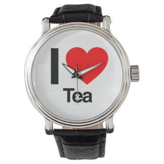 I Liebe-Tee Uhr
